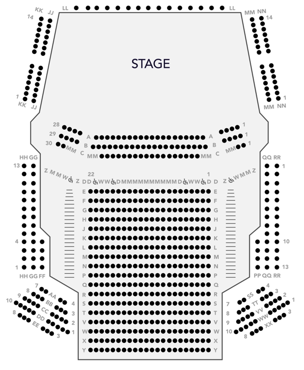 Drawing seating plans - Ticketmatic